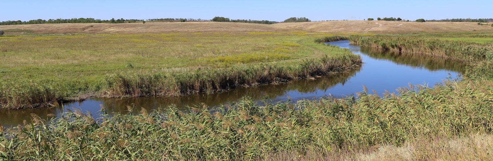 Река Мокрый Еланчик и окрестности