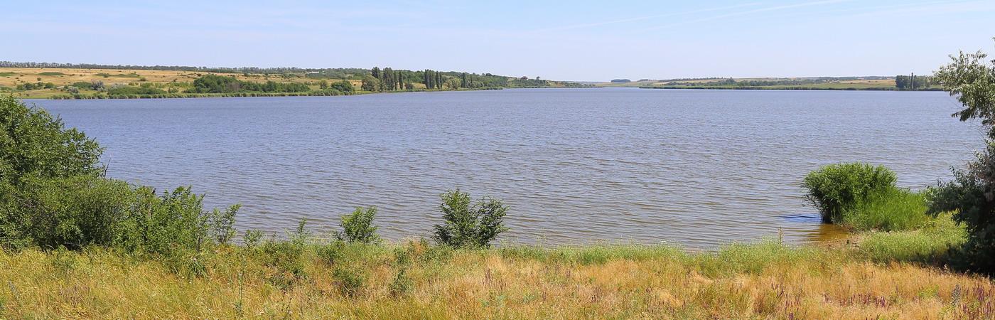 Река Самбек и окрестности