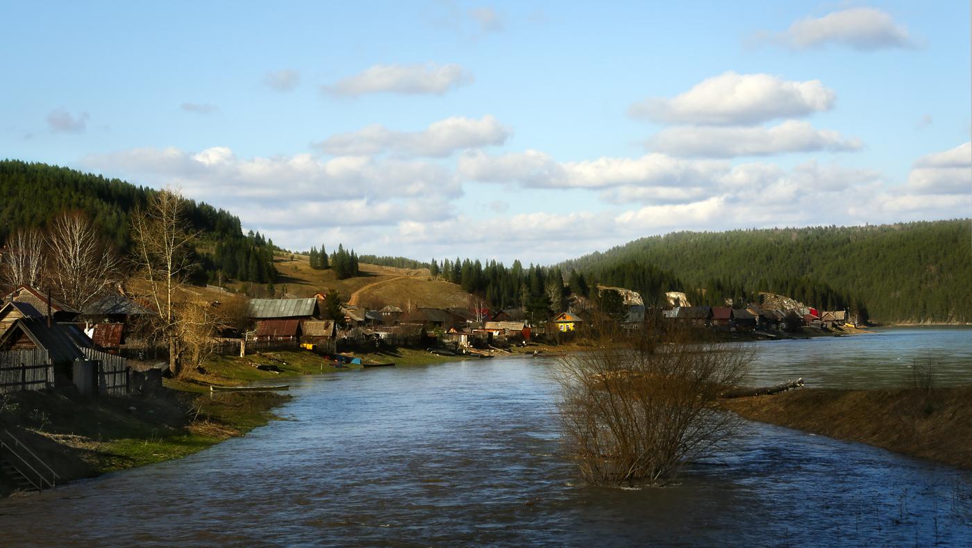 Фото реки чусовая в деревне
