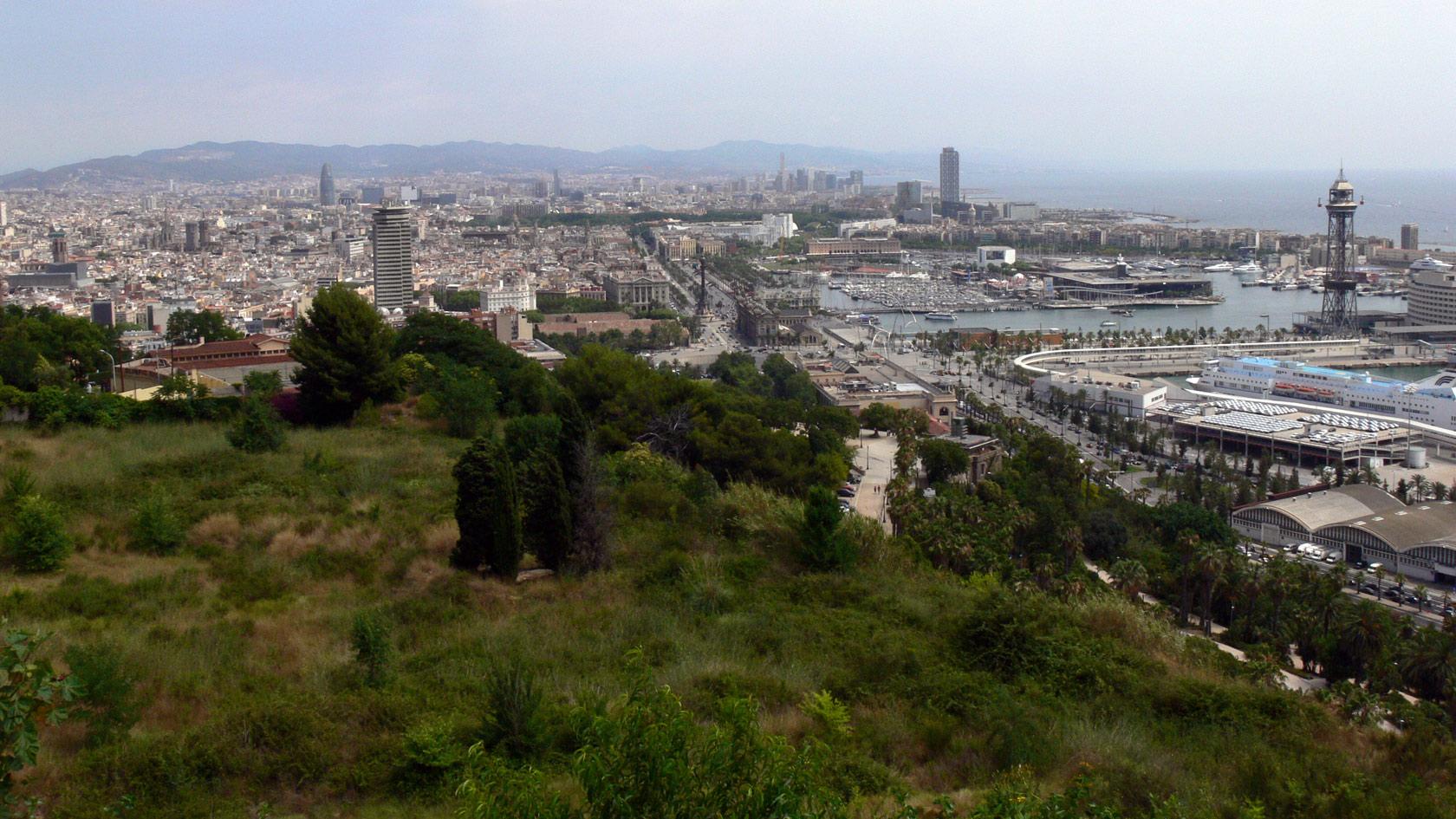 Barcelona, a imagem da paisagem.