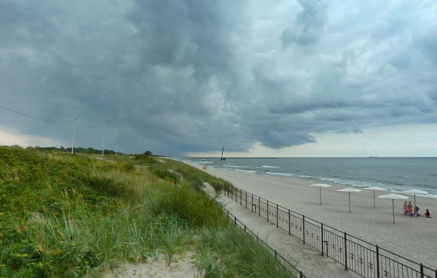 дело модный пляжи в балтийске фото чувствительная кожа