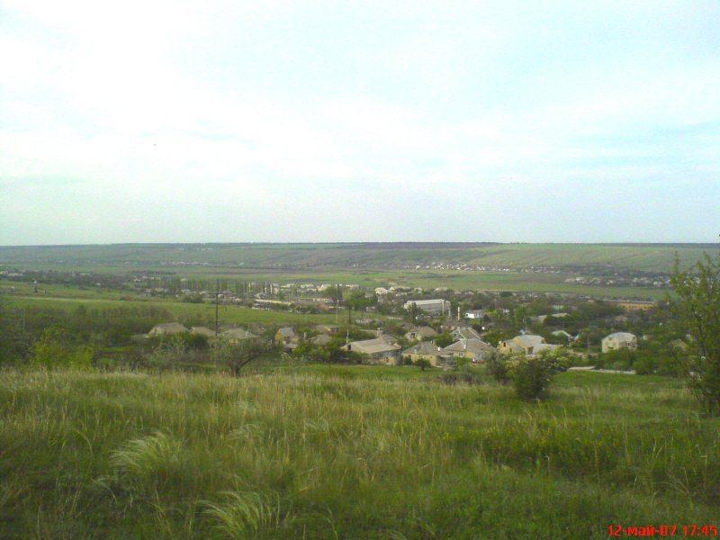 Поселения в долине реки большой
